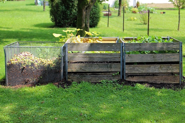 make your own compost to save money on fertilizer